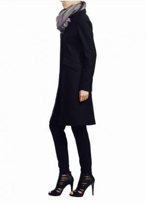 Классическое серое пальто Vassa and Co