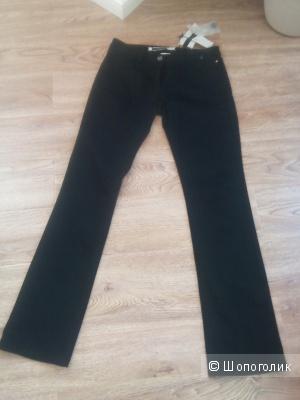 Черные джинсовые брюки Sportmax Code, размер 44