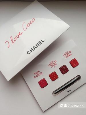 Палетка помад Chanel Rouge COCO