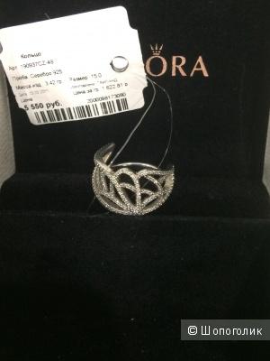 Новое оригинальное кольцо Pandora