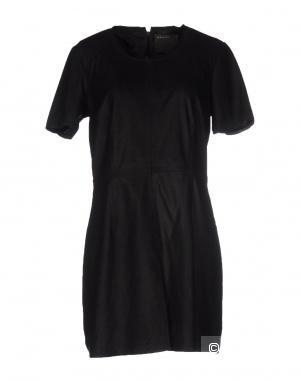 Кожаное платье Muubaa, размер 46 рус.