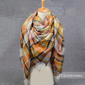 Новый платок-плед VIANOSI 140*140 см, исскуственный кашемир