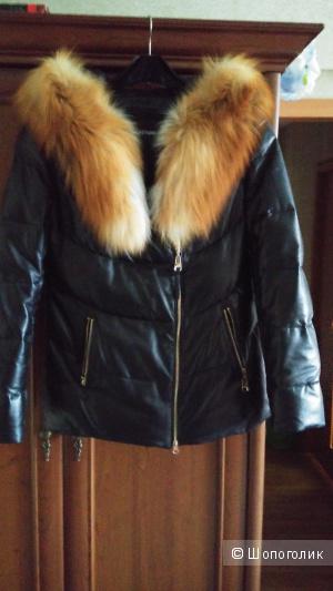 Куртка зимняя кожаная.