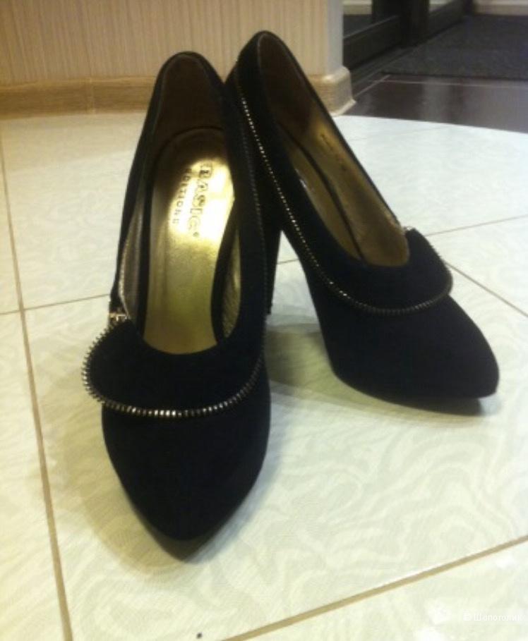 Туфли замшевые Basic р.38