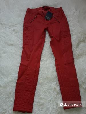 Классные байкерские брюки  Zara размер 44