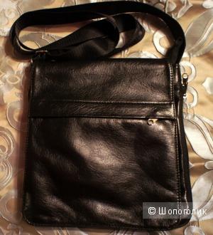 Мужская сумка - планшет из кожзама
