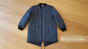 Длинная стеганая куртка ASOS TALL EU 40, рос. 46 (демисезонная)