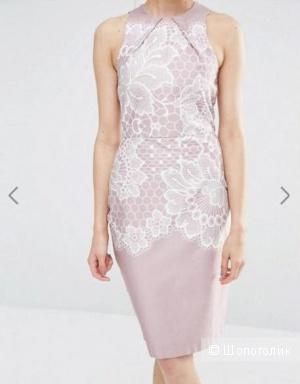 Облегающее платье с кружевным принтом Closet