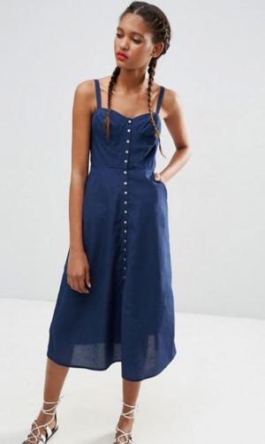 Джинсовое платье ASOS, размер 38-40 (XS)