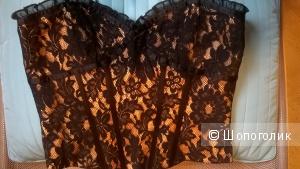 Вечерний корсет ажурный  размер 6 USA рос.42-44