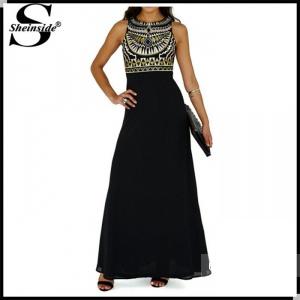 Платье в пол,с машинной вышивкой модного этнического узора,новое,размер М(42-44 наш)