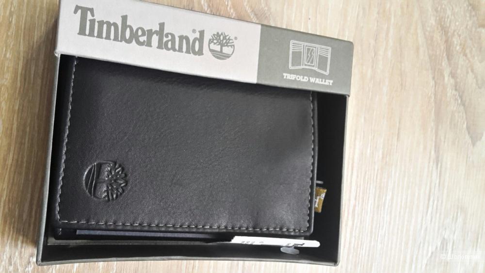 Новый,кожаный  мужской кошелёк Timberland