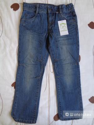 Новые джинсы full fit Vertbaudet Франция 120 см для мальчика