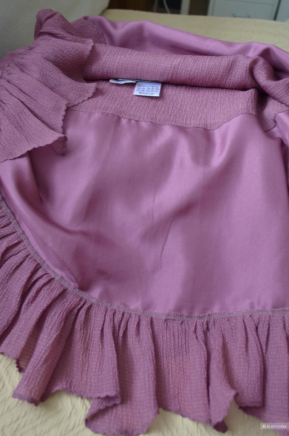 Шелковая юбка Sportmax,оригинал