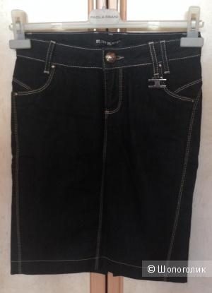 Джинсовая юбка, M.100 JEANS, размер 42 (S)