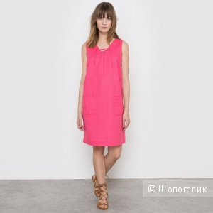 Летний новый супер-комплект: платье La redout 50р и сандали Bonprix 39р