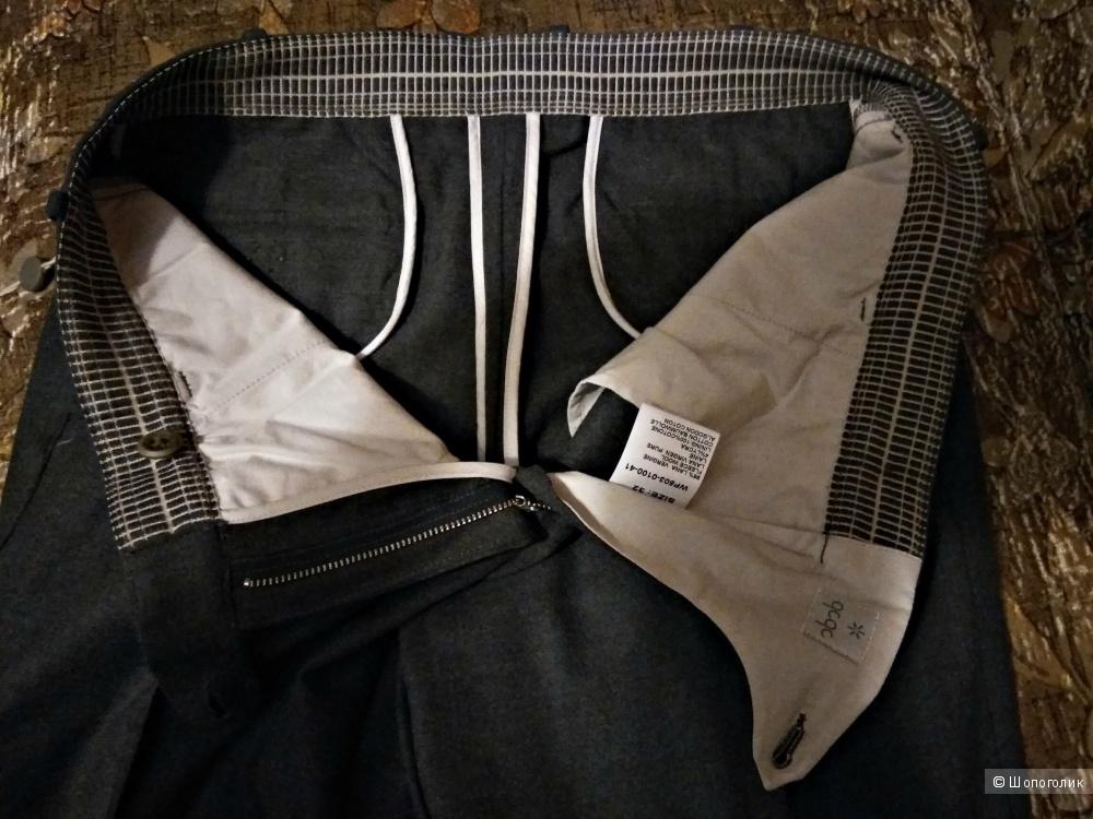 Шерстяные итальянские брюки QCQC джинс. размер 32' (наш 48-50)