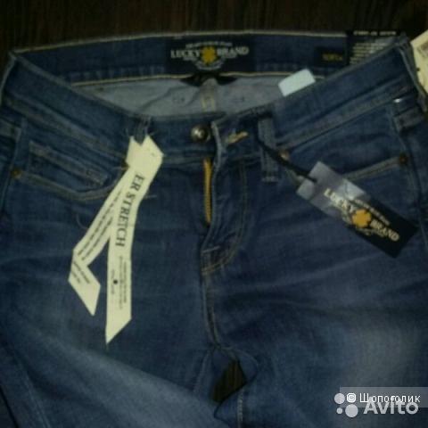 Новые джинсы Lucky Brand, р.0/25