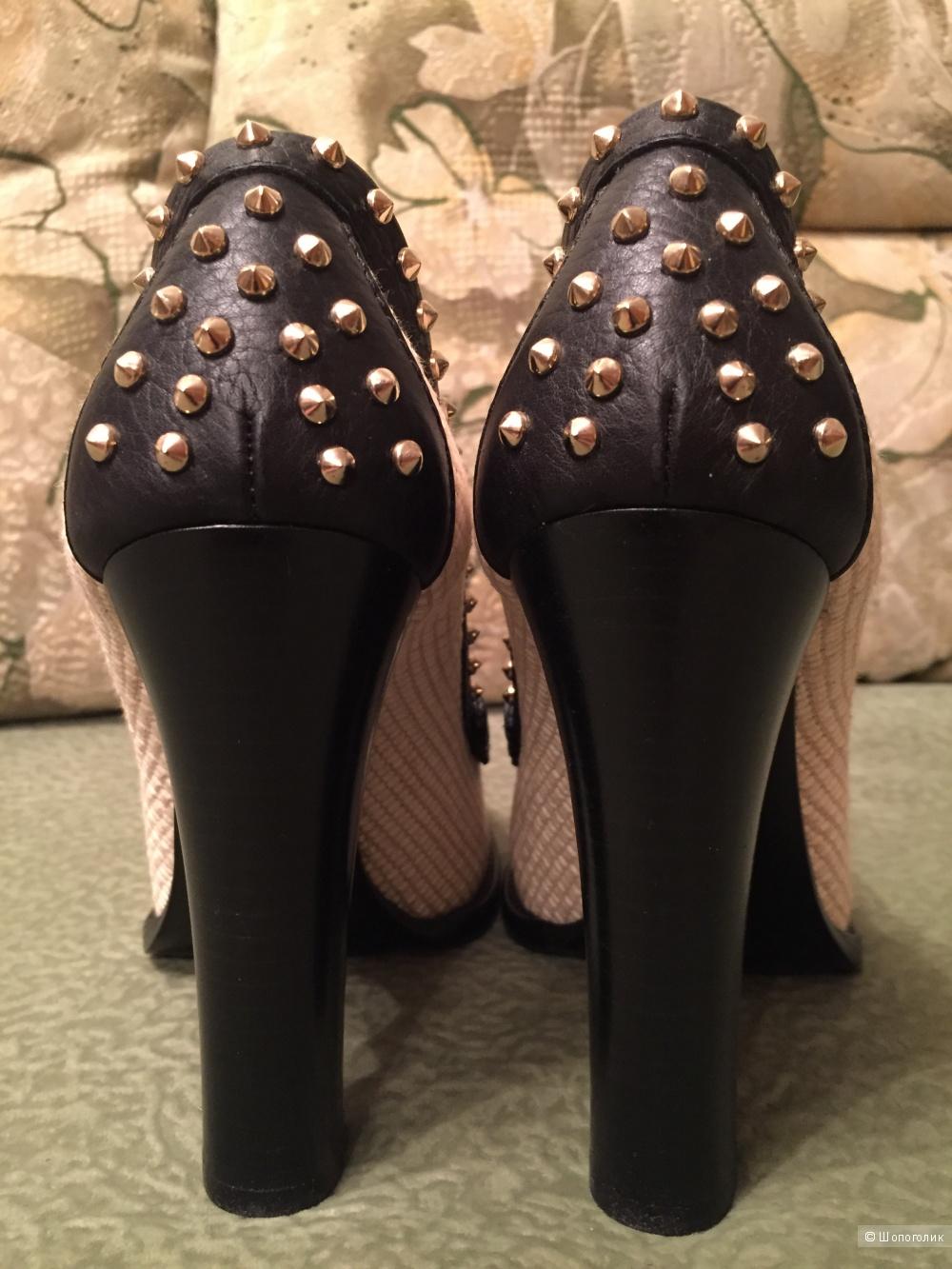 Новые туфли-лоферы Gucci Alyssa оригинал 37.5 евро