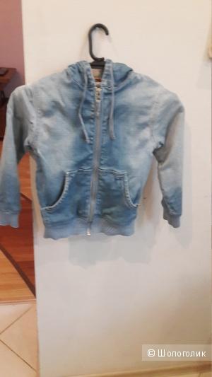 Куртка джинсовая с капюшоном Orby размер 116-122