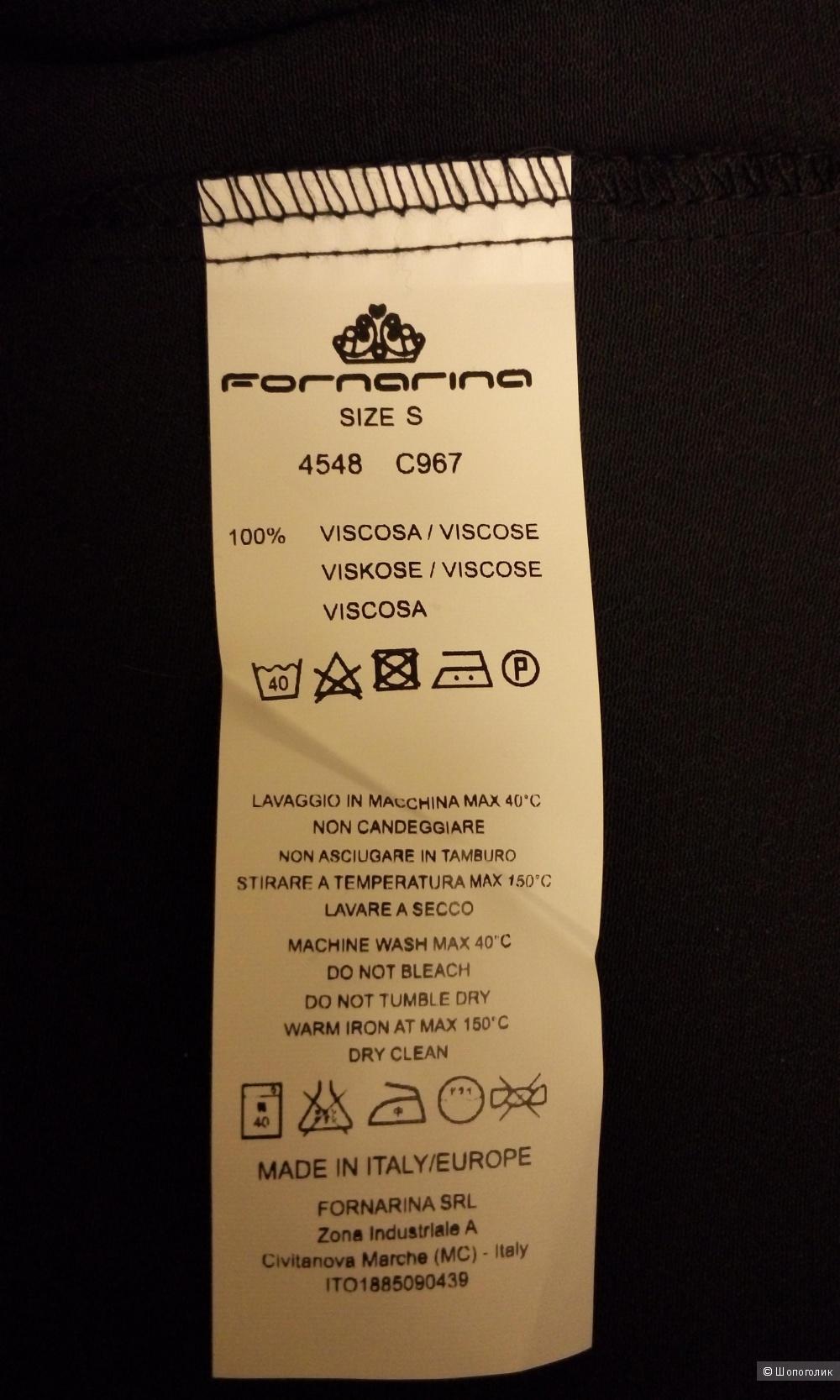 Новая блузка итальянского бренда Fornarina размер S.Большемерка.