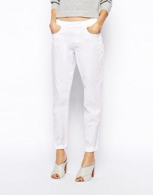 Белые брюки ASOS (12 UK)
