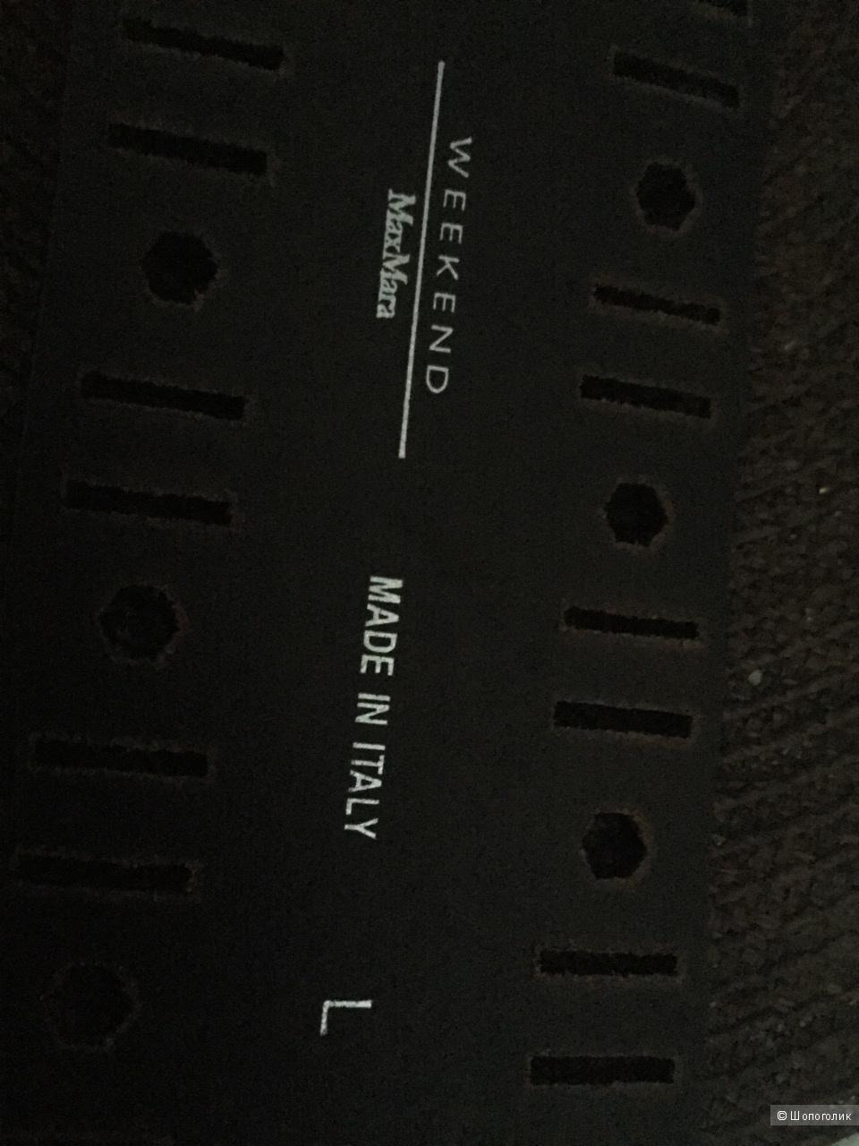 Широкий кожаный ремень от MAXMARA WEEKEND