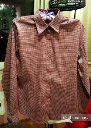 Женская рубашка Tommy Hilfiger (реплика) размер М (46)