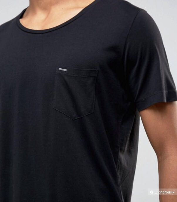 Новая черная мужская футболка Disel. Размер XL.