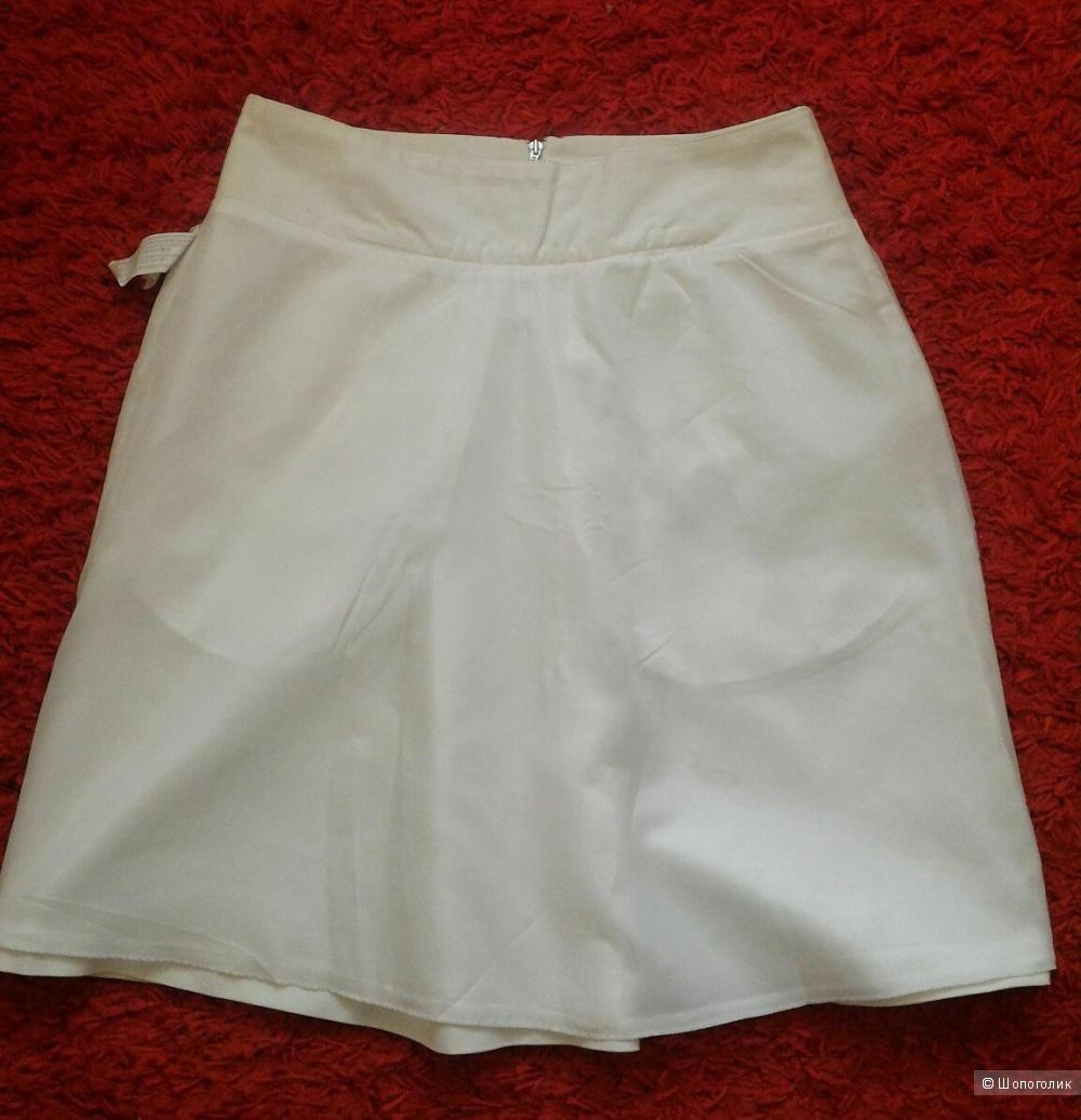 Белоснежная юбка Zara, размер S