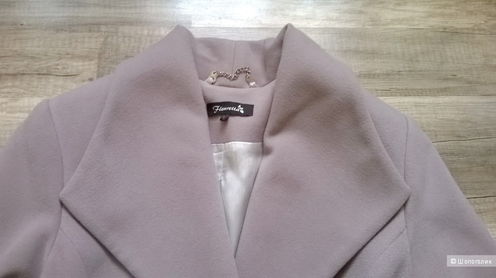 Пальто FLEURETTA 100% кашемир 46-48 размер