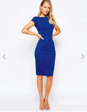 Платье-футляр с присборенными короткими рукавами Closet