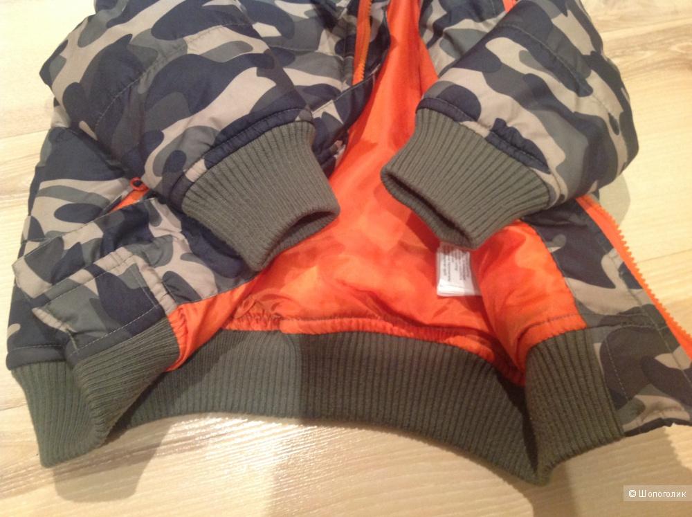 Детская курточка Bonprix,80/86 размер,цвет хаки