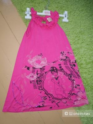 Девчачье платье Gloria Jeans 10 /146 см вискоза трикотаж