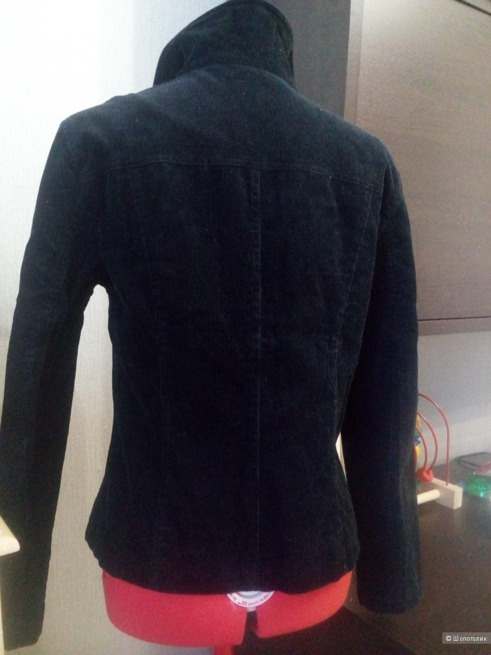 Куртка женская в рубчик