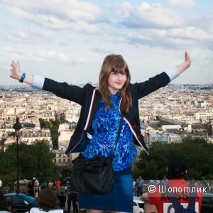 Джинсовая юбка Mim (Франция) размер 38 (44/46)