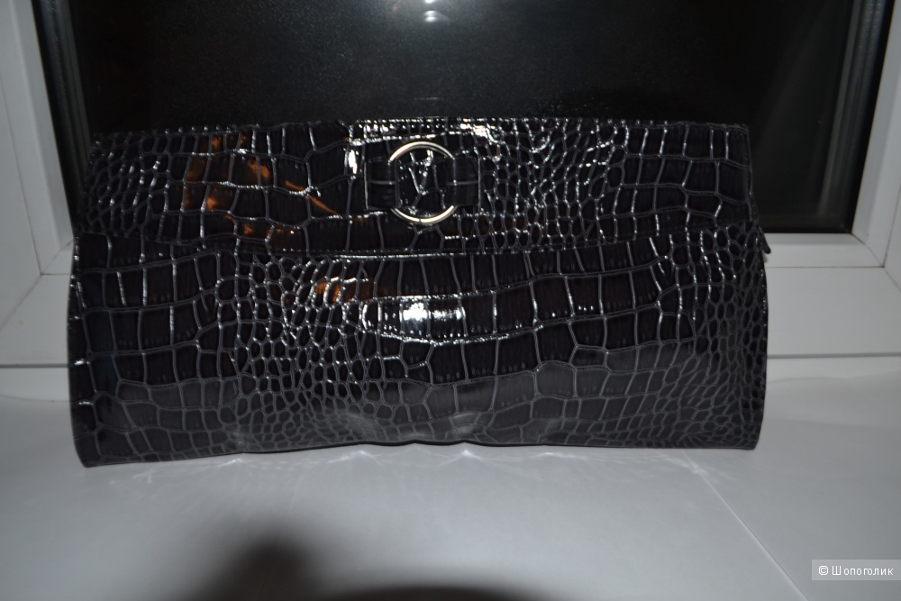 """Новый клатч / сумка под """" крокодиловую кожу """""""
