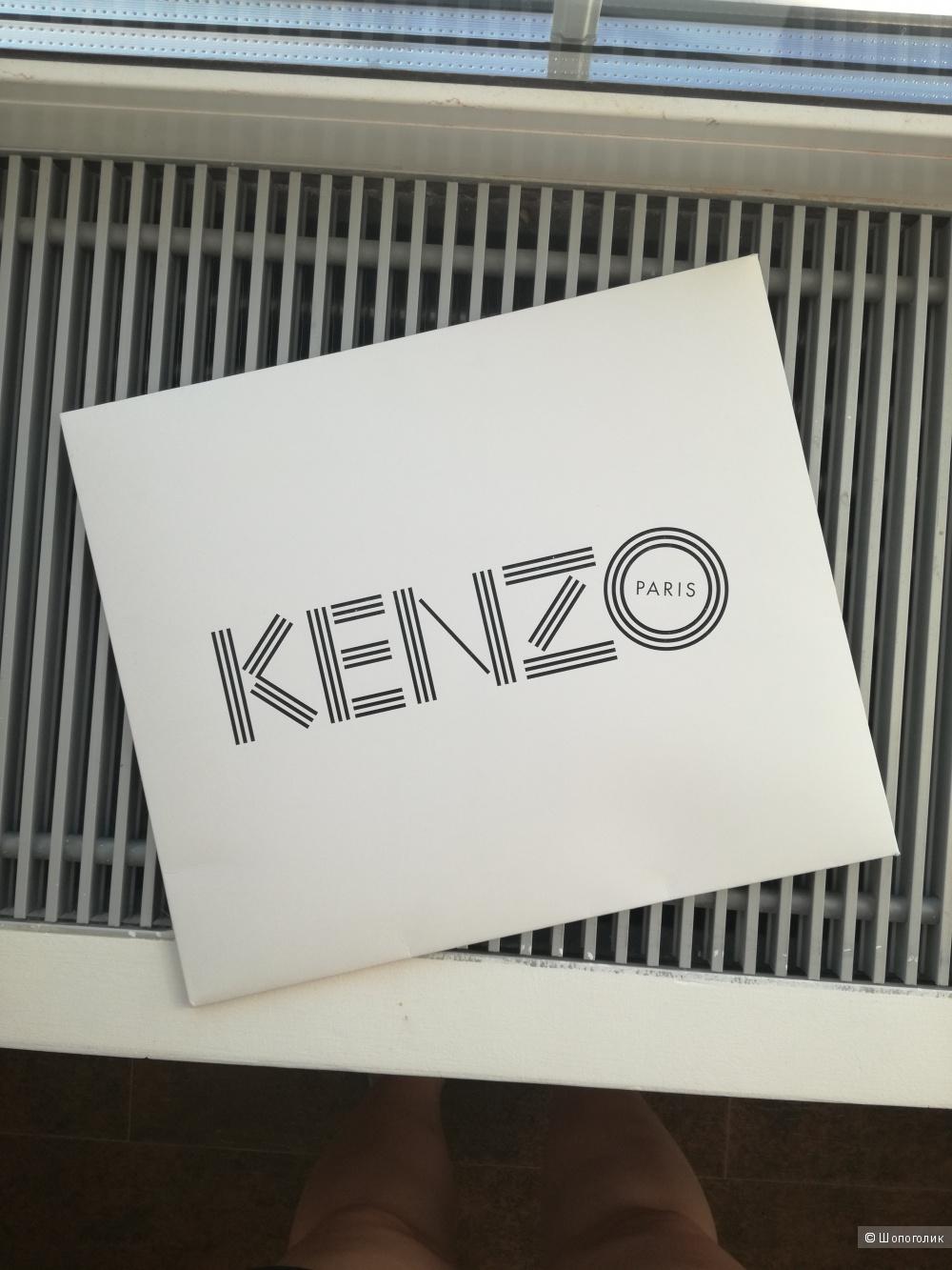 Шелковый шарф Kenzo новый