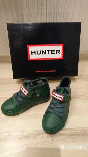 Резиновые кеды Hunter, UK 7,24 размер