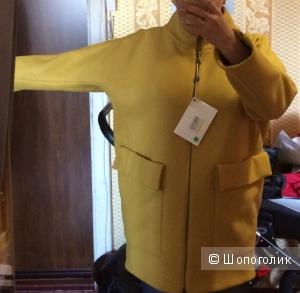 Пальто-кокон марки Ki6 who are you 48-50
