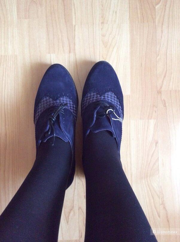 Туфли на шнурках CLAUDIA BY ISABERI размер 39IT