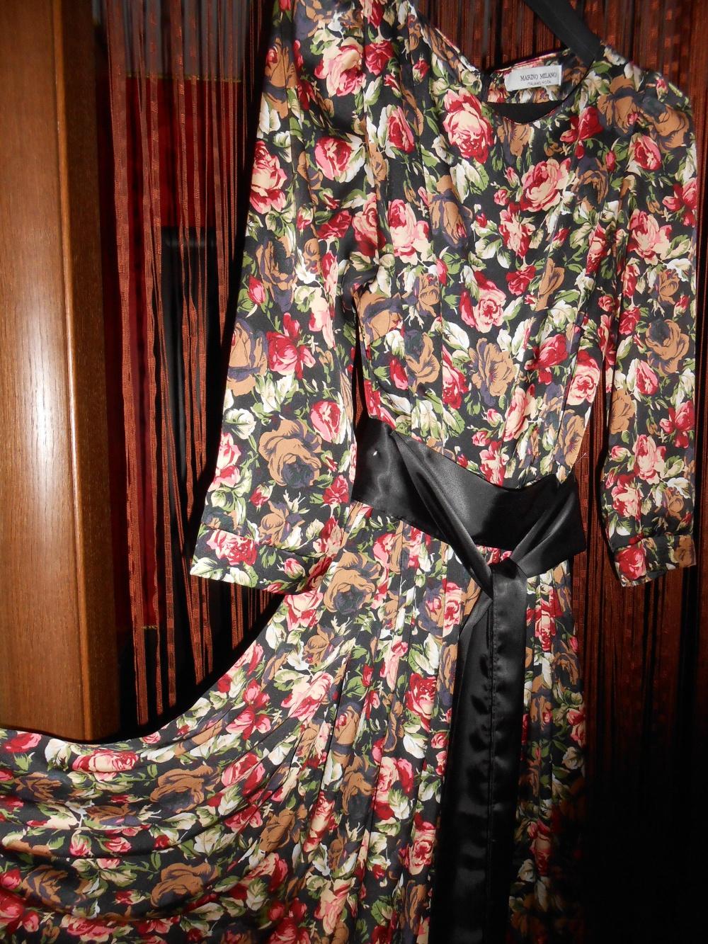 Итальянское платье в пол р. 44