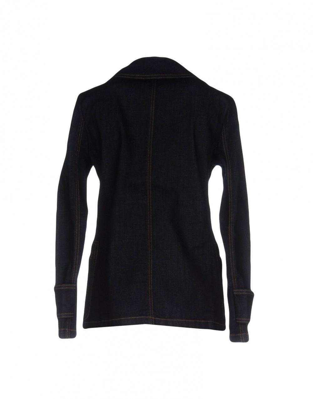 Джинсовый пиджак тренч STEFANEL 44 размер большемерит
