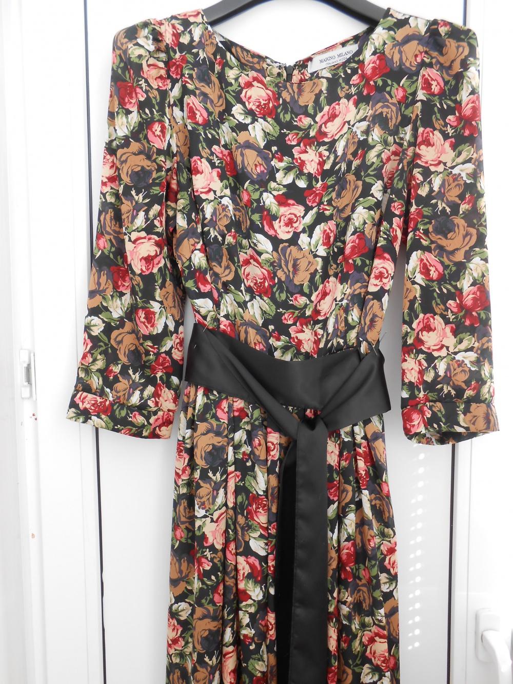 Итальянское платье в пол р. 44, в магазине Другой магазин — на Шопоголик 242c41437a9