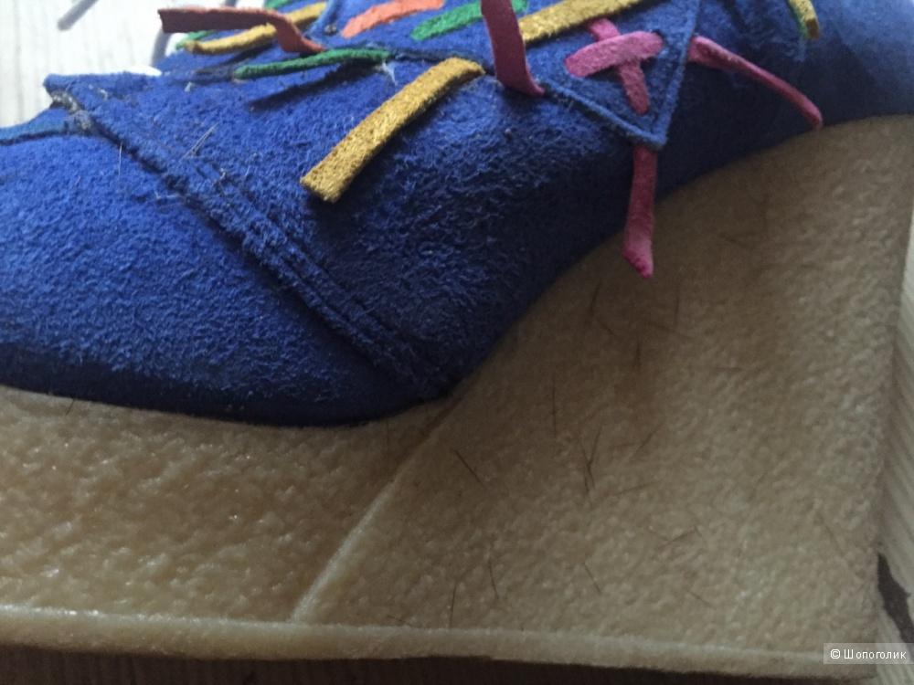 Итальянские кожаные  ботиночки р. 40