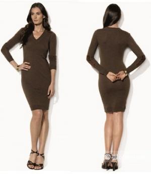 Новое платье-свитер меринос Ralph Lauren, размер С