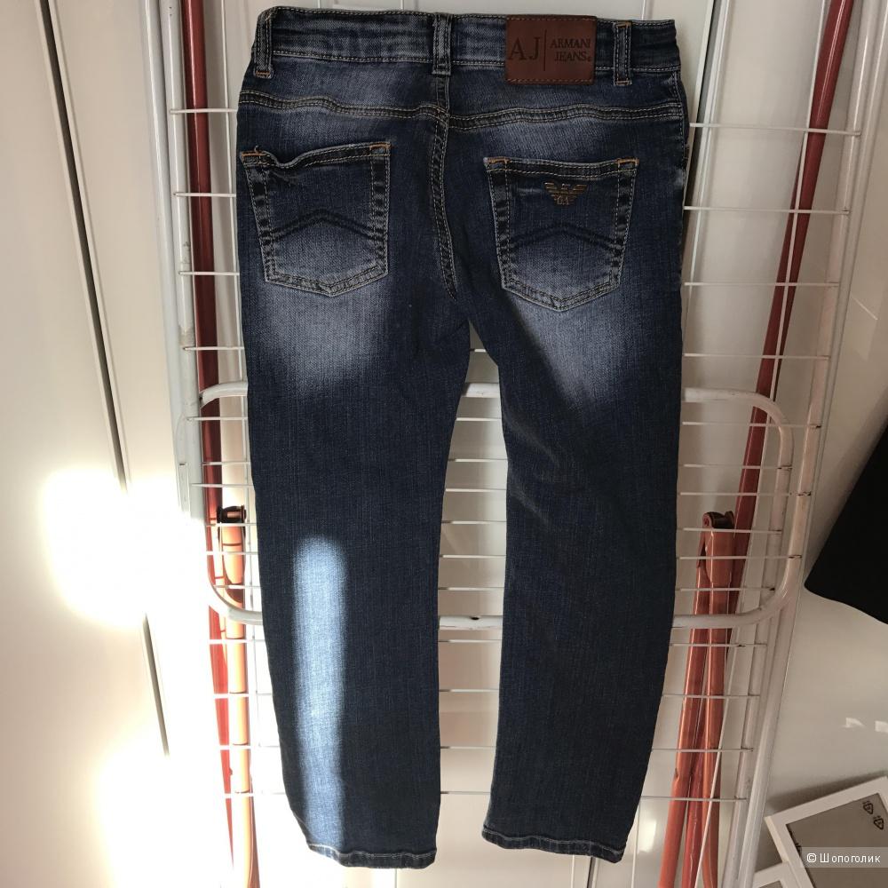 Джинсы Armani Jeans 6-7 лет по факту на 7-8 на 130 см оригинал Италия