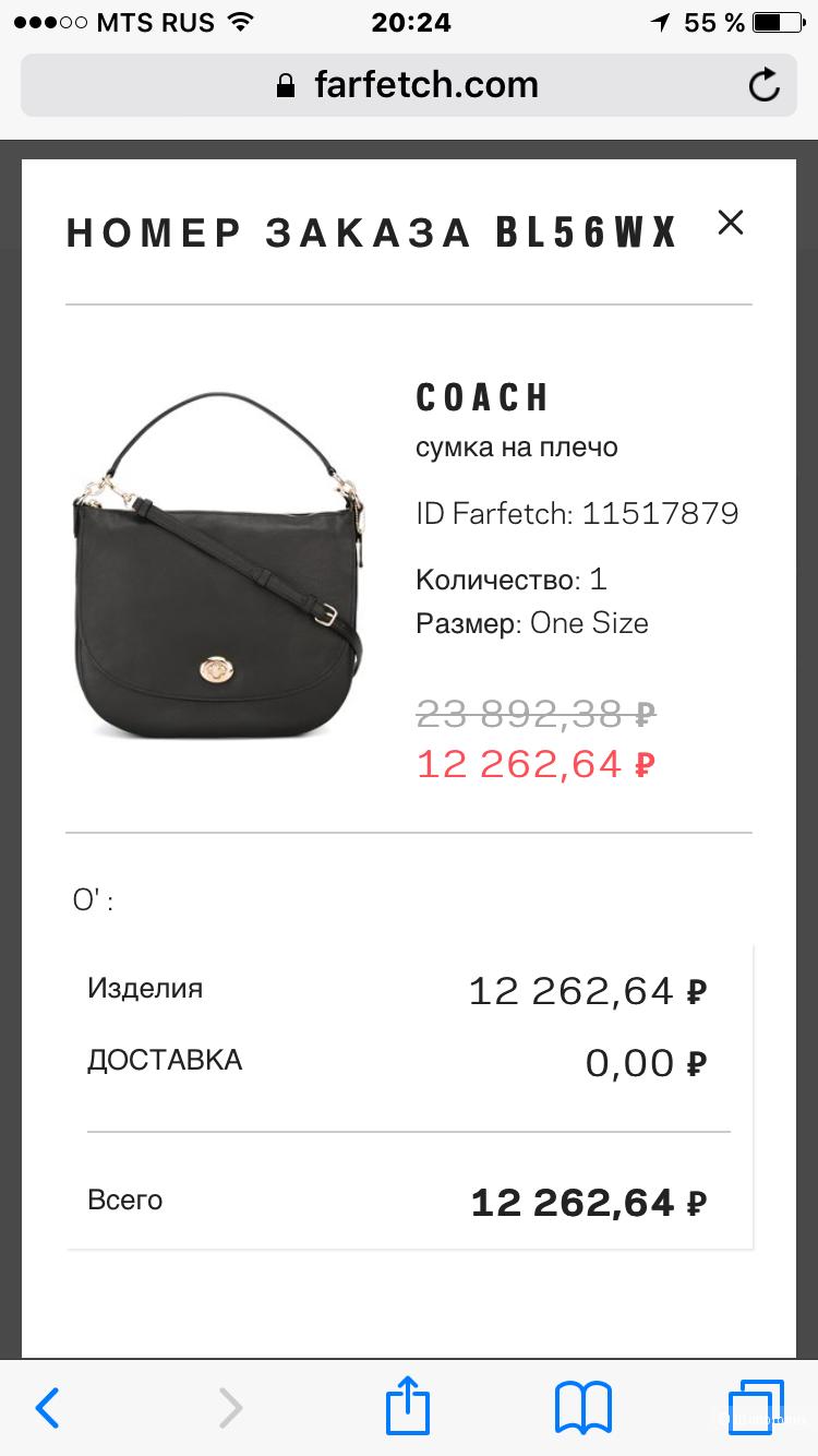 Сумка Coach оригинал новая