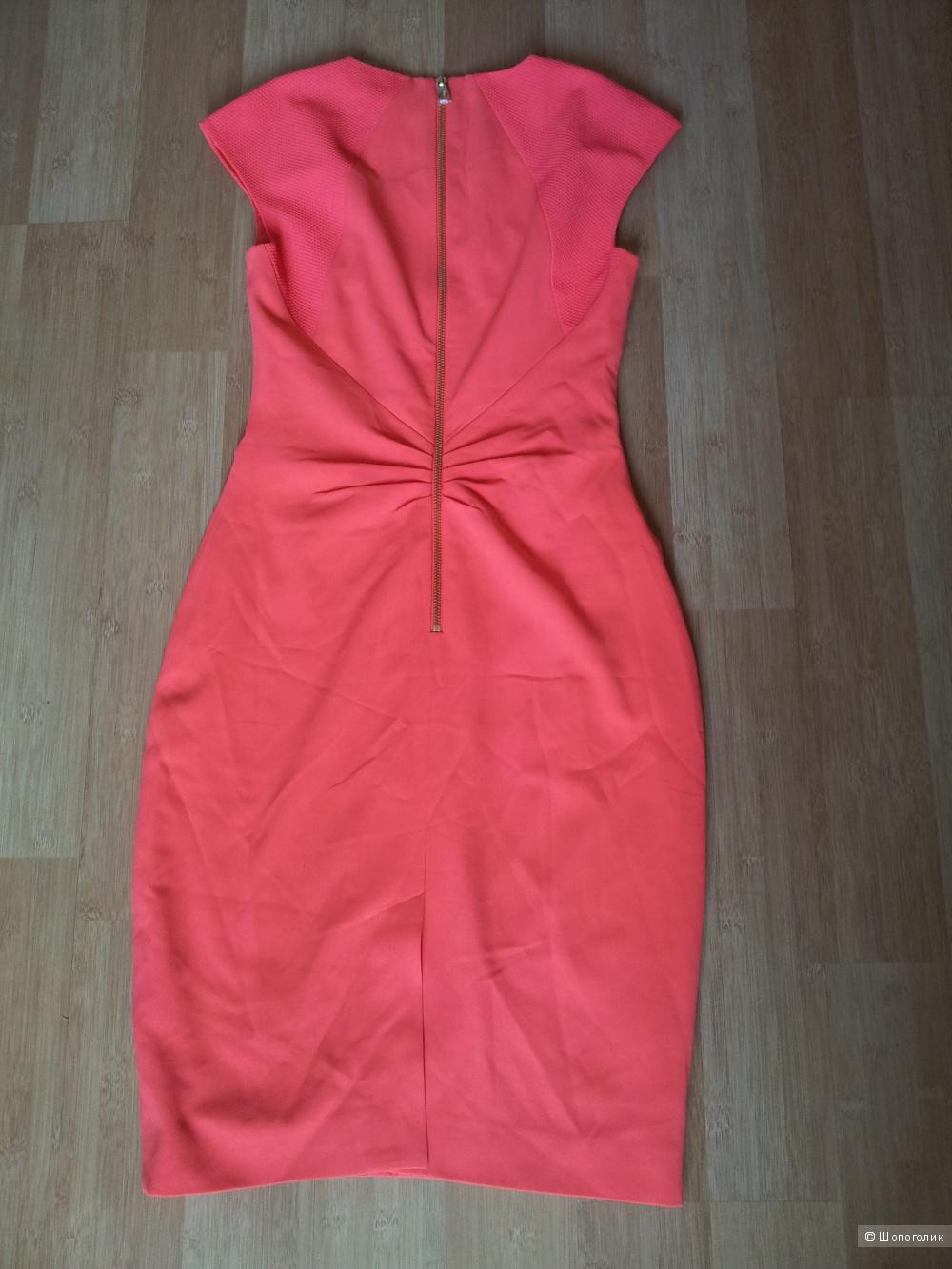 Платье с сетчатой вставкой и юбкой-карандаш Ted Baker 1 - UK8 новое