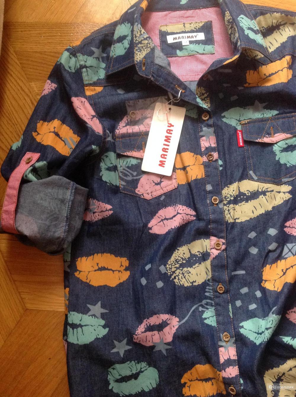 Новая рубашка, размер М.